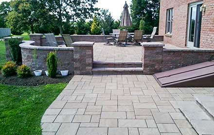 Patios, Natural Stone, Pavers, Authentic Homescapes