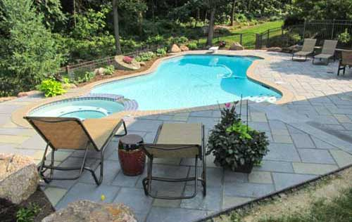 Pool Deck, Natural Stone, Authentic Homescapes